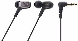audio-technica ATH-CKB70 Balanced Armature In-Ear Headphones Black Red NEW