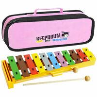 Sonor GS Xylophon Glockenspiel für Kinder + Keepdrum Tasche Pink