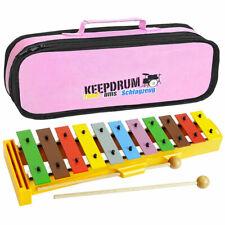 Sonor GS Xylophone Jeu de Cloches Pour Enfants + Keepdrum Sac Rose