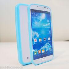 Tpu Gel de silicona cubierta de parachoques Transparente Helado Duro posterior Funda Para Galaxy S3 S4 S5