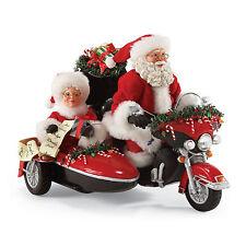 Dept 56 Possible Dreams Santa Claus Harley Davidson Good Day For a Ride 4051965