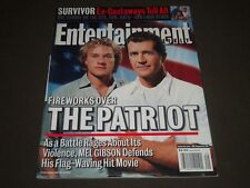 2000 JULY 14 ENTERTAINMENT WEEKLY MAGAZINE - MEL GIBSON FRONT COVER - O 7487