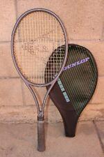 New listing DUNLOP John McEnroe Graphite Pro Tennis Racket Racquet L 4 1/2 Vintage w/ Cover