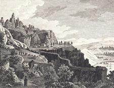 1790/1820 - RARISIMO - MONTSERRAT - Grabado Fantasioso