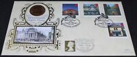 1997 | Bicentenary Copper Penny Benham FDC | First Day Covers | KM Coins
