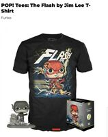 Funko POP! and Tee: The Flash by Jim Lee T-Shirt New in Box