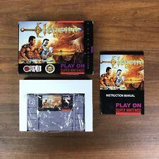 Legend Super Nintendo SNES COMPLETE Game+Box+Manual NTSC Repro