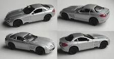 Motormax-Mercedes-Benz SLR McLaren silbermet. 1:43 voiture miniature