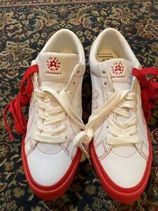 Converse x Golf Le Fleur Tyler The Creator One Ox Racing Red 164026C Size 12