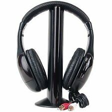 TechnoTech Wireless Headphone - Cordless Headphone with FM Radio