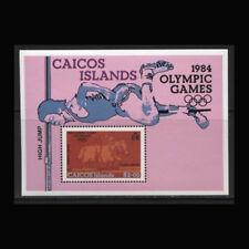 Caicos, Sc #41, MNH, 1984, S/S, Olympics, Los Angeles, OL314