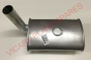 JCB PARTS EXHAUST AND GASKET (106/65307 + 813/00209) 3C MKIII