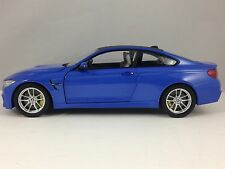 Paragon BMW M4 (F82) Marina Blue Model Diecast Car 1/18 New in Box