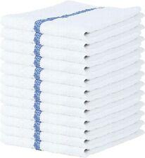 Bar Mop 12-24 Pcs 16x19 Dishcloth Towel 100% Cotton Bar Mop Kitchen Towels