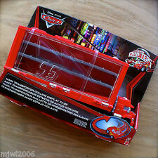 Disney PIXAR Cars MACK TRANSPORTER ROLLING DISPLAY CASE Storage MICRO DRIFTERS