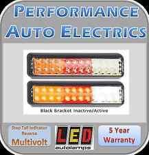2x LED Autolamps 200BSTIRMB - Stop Tail Indicator Reverse - Multivolt - ADR App