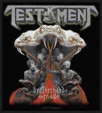 Testament Brotherhood of the Snake Patch / SEW-ON PATCH 602686#