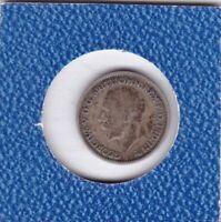 6 pence Großbritannien 1936 Georg V Great Britain Silber