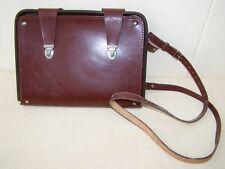 Vieux Sac À Bandoulière En Cuir w cuir, Design Vintage Commandant de poche NVA