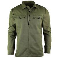 Genuine Bulgarian army field jacket military BDU olive OD shirt military combat