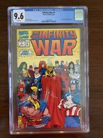 Infinity War #1-6 CGC 9.6 - 9.8 (Marvel 1992)  Lot of 6 CGC high grade books!!