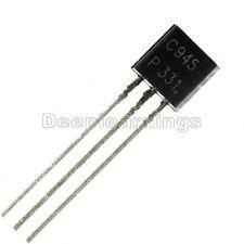 200Pcs 2SC945 C945 BIPOLAR TRANSISTORS NPN 50V 0.15A