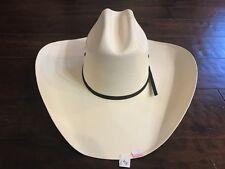 "BUSINESS LIQUIDATION: Texas Hat Co 10X Tan ""All Around"" Straw Cowboy Hat 6 5/8"