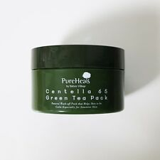 Pure Heal's Centella 65 Green Tea Pack 130g wash off pack Korea cosmetics