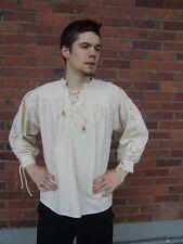 Mittelalterhemd - 6 Farben - S - XXXL - Piratenhemd - Hemd Mittelalter Trachten