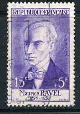 STAMP / TIMBRE FRANCE OBLITERE N° 1071 CELEBRITE / MAURICE RAVEL COTE 10 €