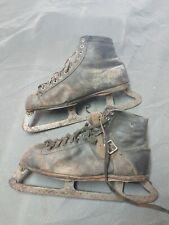 Antique Arctic Ice Hockey Skates Mens Used