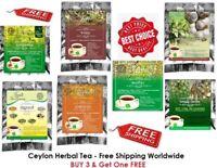 Ceylon Tea - 100% Natural Herbal Tea, 10 Bags Pack Free Shipping
