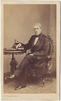 Gustave Fotografia Il Mans Foto CDV Vintage Albumina Ca 1860