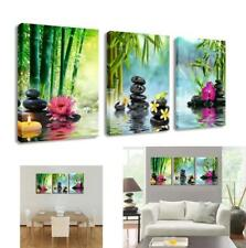 Spa Massage Treatment Wall Art Picture Print Canvas Framed Home Decor Gift 3 Pcs