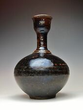ANTIQUE SONG DYNASTY CHINESE VASE Museum Quality Pottery Rare Jian Stoneware