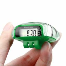 Green Multi-function Calorie Counters LCD Pedometer Sports  Bicycle Accessories