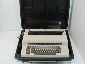 TESTED WORKING Sears The Electronic Communicator 1 Electric Typewriter w/ case