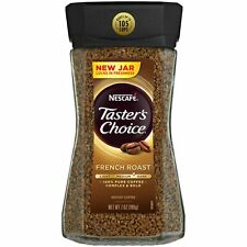 Taster's Choice French Roast Medium Dark Roast Instant Coffee 7oz