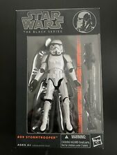 "Star Wars Black Series STORMTROOPER 2013 Orange Line Sealed 6"" Inch #09 MIP"
