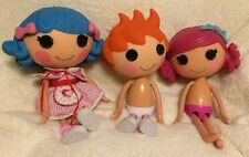 Lalaloopsy Doll FULL SIZE LOT of 3 Coral sea shell,Bumps/bruises,ace fender bend
