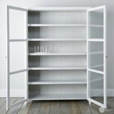Glass & Wood Vintage/Retro Display Cabinets
