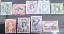 BRITISH COLONIES, TOGA, STAMPS, 1942 Mi. 73-81 MNH** OG - see description !!!