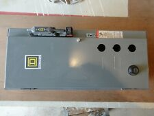 SQUARE D 8539SCG4.....Combination Starter Enclosure with Breaker & Transformer
