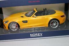 ZD027 NOREV 183451 Voiture 1/18 Mercedes AMG GT C Roadster jaune