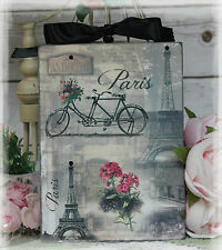"""~ Vintage """"Paris Paris..."""" ~ Shabby Chic~Country Cottage style~Wall Decor Sign ~"""