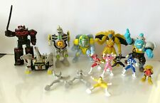 Galoob Micro Machines Power Rangers zords, monsters and rangers lot used