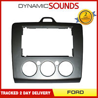 DFP-07-17 Double Din Car Stereo Facia Fascia Panel Plate for FORD Focus 2007 On