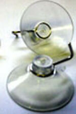 """Clear Suction Cup Hangers  7/8"""" Diameter PACKAGE OF 25 PCS"""