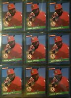 1986 Donruss #59 OZZIE SMITH - High Grade Lot Of 13 NM/MT To MINT - Lot # 102