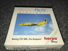 """1:500 HERPA B737-300 WESTERN PACIFIC """"The Simsons"""""""